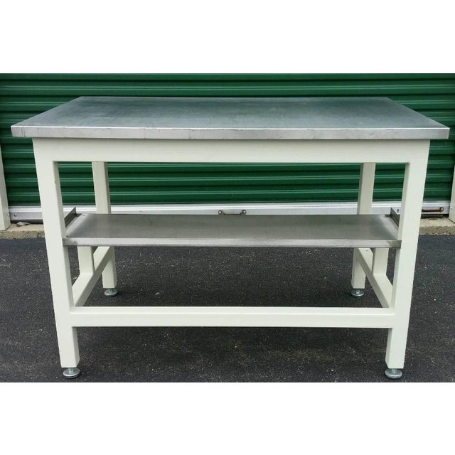 Stainless Steel Lab Work Table or Desk - Image 4 of 9