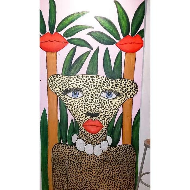 Cheetah in the Jungle Mural For Sale In Philadelphia - Image 6 of 7