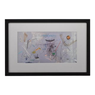 Abstract Modern Print Framed For Sale