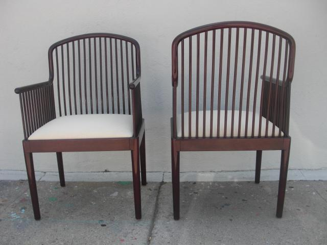 Davis Allen For Stendig Andover Spindle Arm Chairs   A Pair For Sale In Los  Angeles