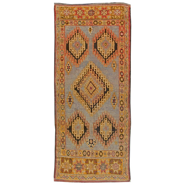 Vintage Moroccan Rug For Sale In New York - Image 6 of 6