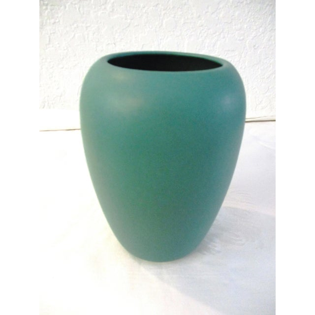 1990s Aqua Seas Turquoise Pottery Collection - Set of 3 For Sale - Image 4 of 8