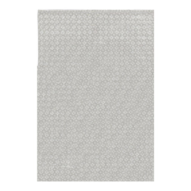 Contemporary Hand Woven Rug - 4'8 X 7' For Sale
