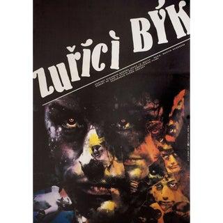 Raging Bull 1987 Czech A1 Film Poster For Sale