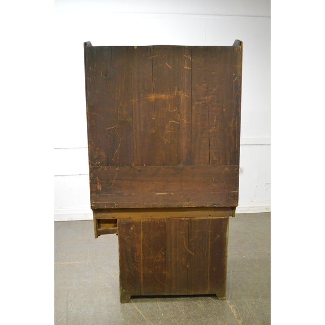 Antique 19th Century Country Poplar Dry Sink Cupboard For Sale - Image 11 of 13