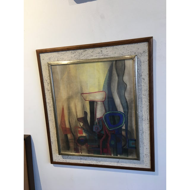 Modern Interiors Abstract Painting - Image 6 of 10