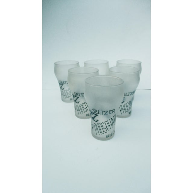 Retro Cocktail Soda Seltzer Glasses - Set of 6 - Image 10 of 11