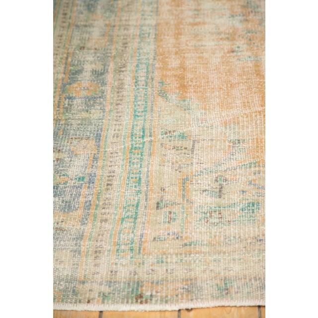 "Vintage Distressed Oushak Carpet - 6'3"" X 8'6"" - Image 9 of 11"