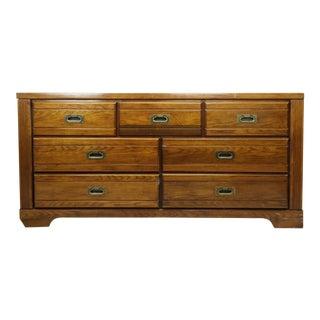 1980s 7-Drawer Wooden Dresser For Sale