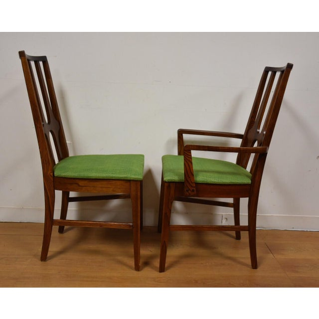 Broyhill Brasilia Walnut Dining Chairs - Set of 8 - Image 11 of 11
