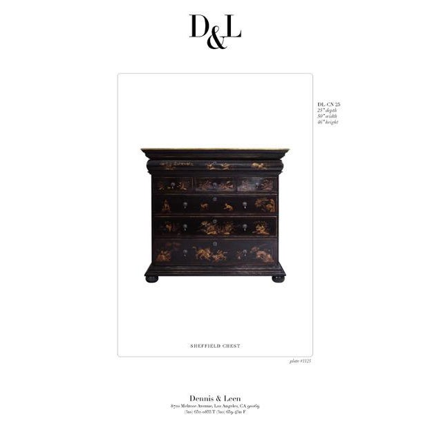 Dennis and Leen Chinoiserie Lacquer Dresser Chest of Drawers For Sale - Image 12 of 13