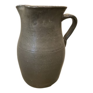 Antique Earthen Ware Jug For Sale