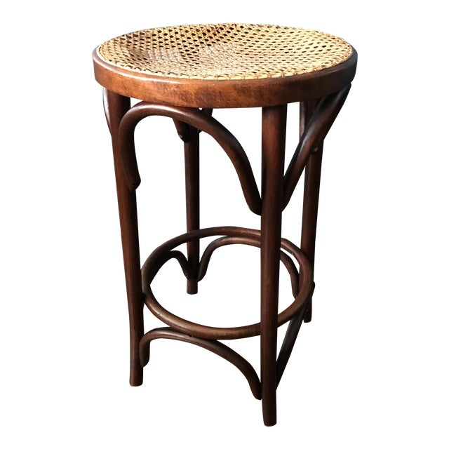Bentwood Caned Counter Stool - Image 1 of 5