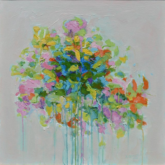 """""""Bouquet. Out of Many, One"""", Contemporary Abstract Painting by Stephen Remick For Sale - Image 11 of 11"""