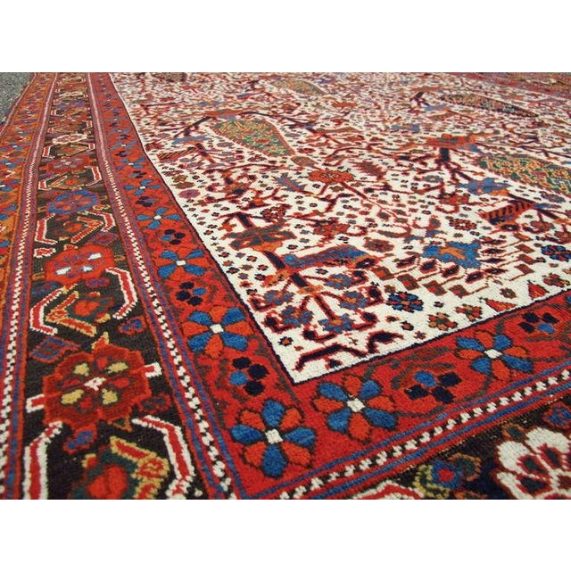 Mid 19th Century Persian Afshar Tribal Rug For Sale - Image 5 of 8