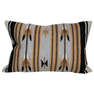 Navajo Indian Weaving Arrows Bolster Pillow For Sale