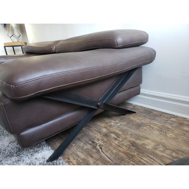 Animal Skin Roche Bobois Syntaxe Sofa For Sale - Image 7 of 10
