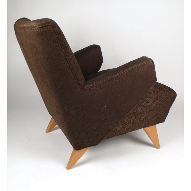1950s Early Lounge Chair by Jens Risom For Sale - Image 5 of 6