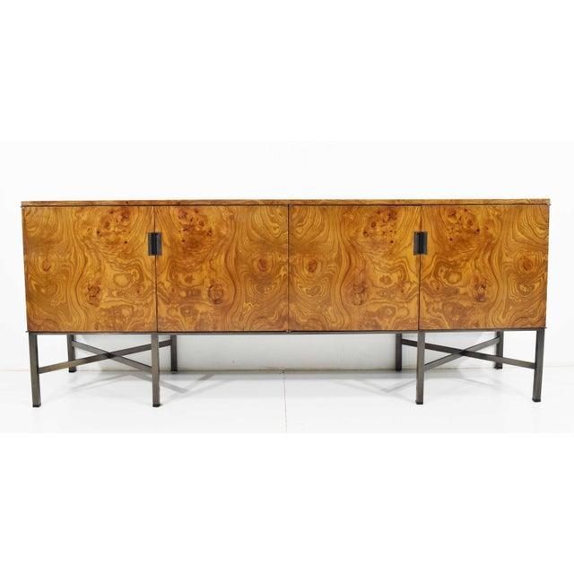 Roger Sprunger for Dunbar Burled Olivewood Sideboard or Credenza For Sale - Image 13 of 13