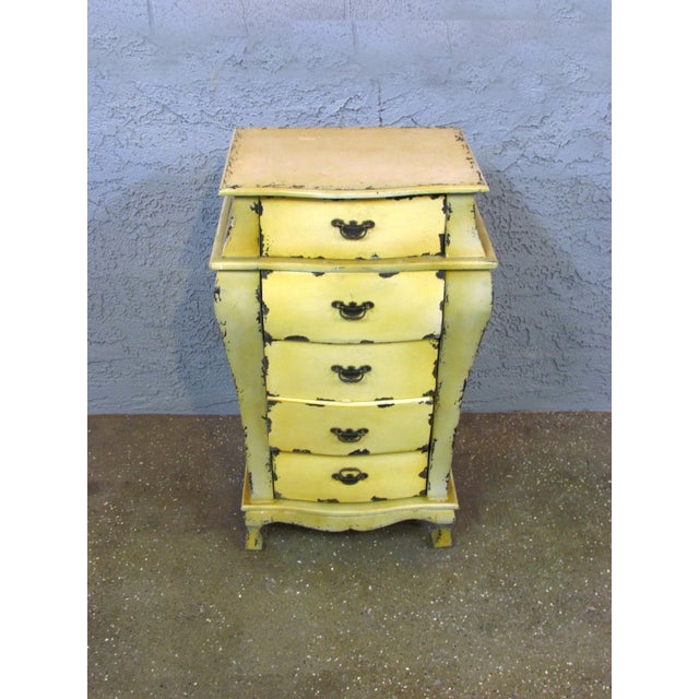 Short Yellow Chest of Drawers - Image 2 of 5