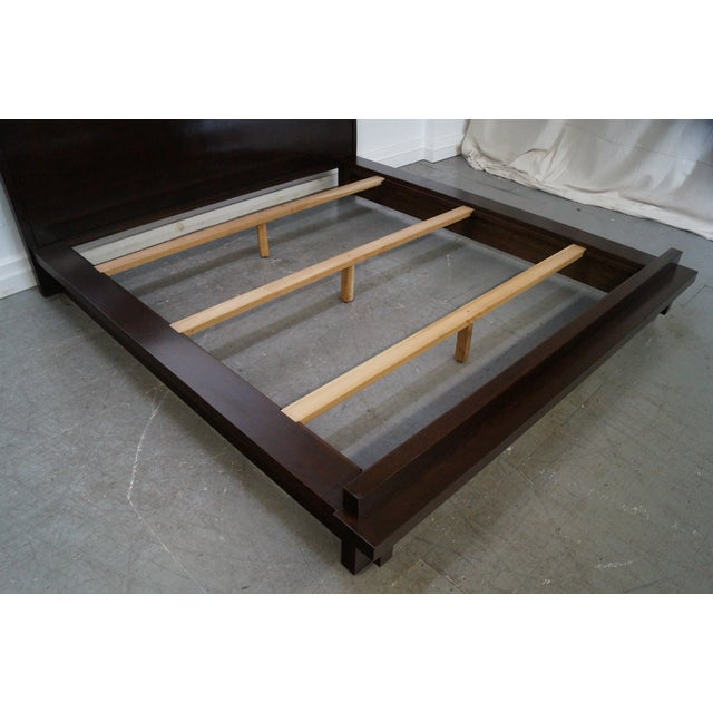 Stickley Tribeca Cherry California King Size Bed For Sale - Image 5 of 10