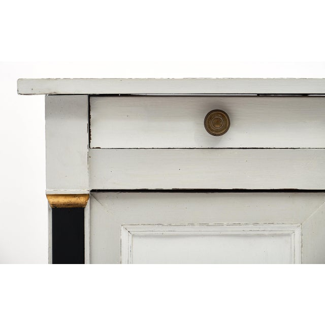 Late 19th Century French Painted Directoire Style Buffet For Sale - Image 5 of 11