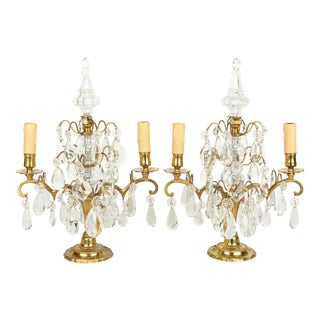 Louis XV Style French Girandoles Pair For Sale