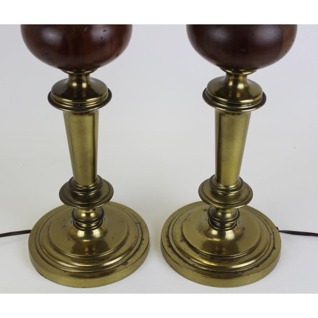 Mid-Century Rembrandt Table Lamps - A Pair For Sale In Miami - Image 6 of 7