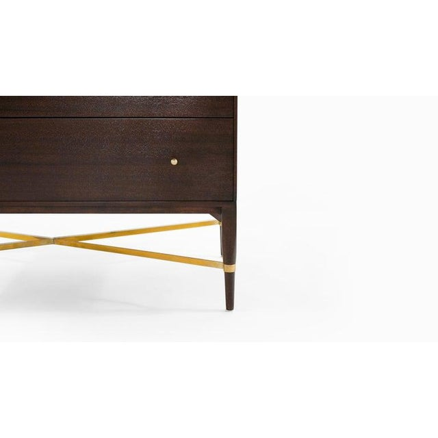 Pair of Bedside Mahogany Chests by Paul McCobb, Calvin Group, 1950s For Sale - Image 9 of 13