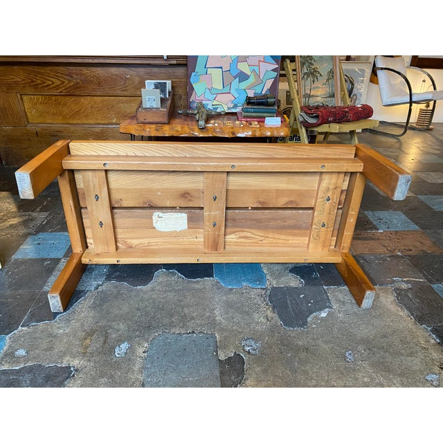 1950s French Coffee Table From Lyon For Sale - Image 11 of 13