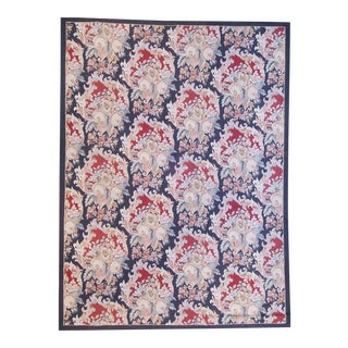 """Pasargad Aubusson Hand Woven Wool Rug - 9' 9"""" X 14' 1"""""""