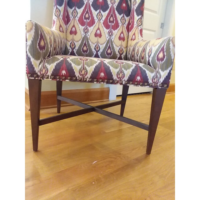 Pearson Modern Pearson Upholstered Chairs- a Pair For Sale - Image 4 of 7