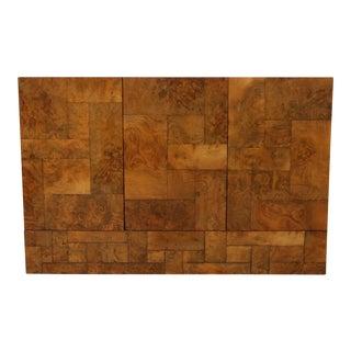 Paul Evans Burl Wood Cityscape Cabinet