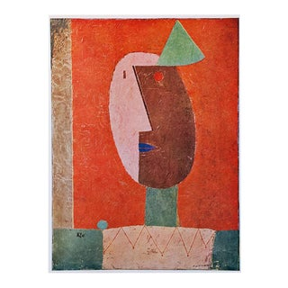 "1958 Paul Klee ""Clown"", First English Edition Lithograph For Sale"