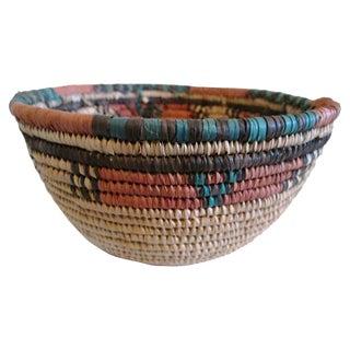 Vintage Nigerian Hausa Basket For Sale