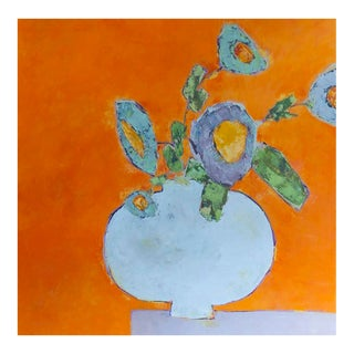 """Bill Tansey """" Orange Wall"""" For Sale"""