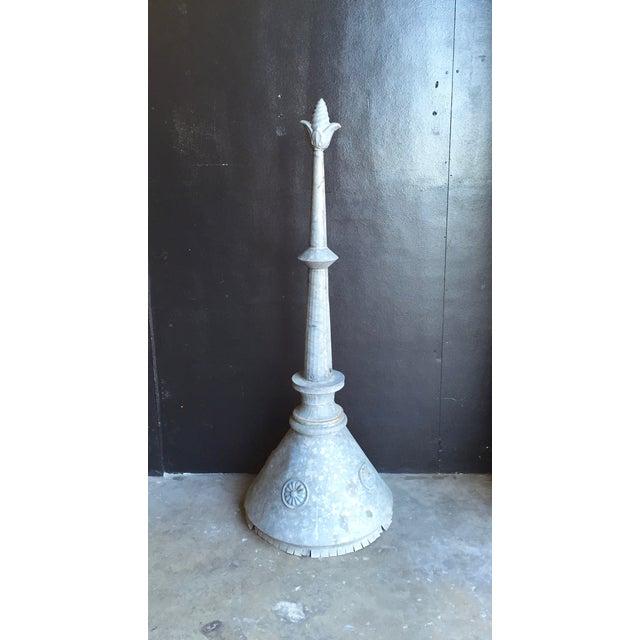 Antique Zinc Finial For Sale - Image 5 of 6