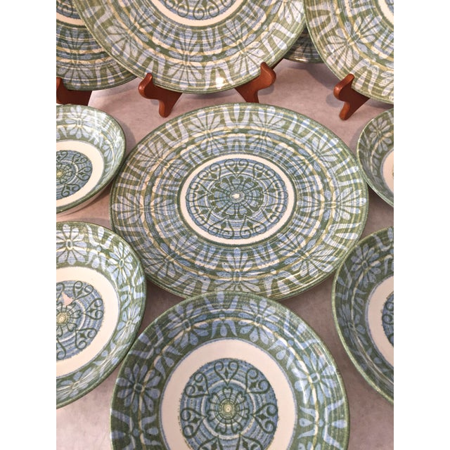 Royal-Ironstone Baghdad 10-Piece Bowls & Plates - Set of 5 For Sale - Image 5 of 8