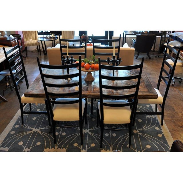 Ladder-Back Dining Chairs - Set of 4 - Image 2 of 3