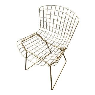 Children's Metal Bertoia Style Chair For Sale