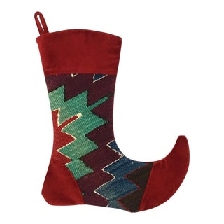 Kilim Christmas Stocking | Josie