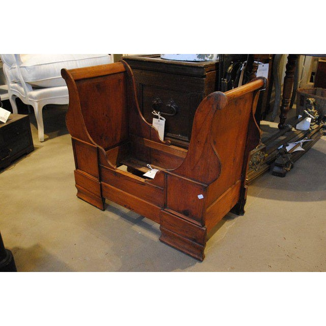 Mid 19th Century 19th Century Dolls or Dog Sleigh Bed For Sale - Image 5 of 8