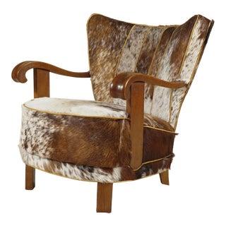 Danish Modern Tubby Armchair For Sale