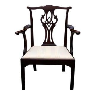18th Century Philadelphia Chippendale Armchair