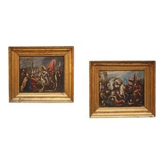 Scenes from the Turkish War Attributed to Juan Antonio de Frias y Escalante For Sale