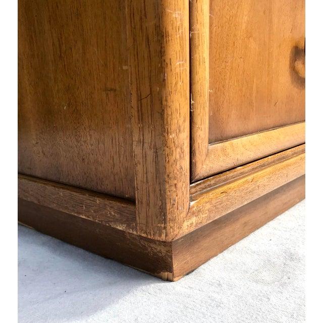 Mid-Century Modern Drexel 4 Drawer Low Boy Dresser For Sale - Image 9 of 13