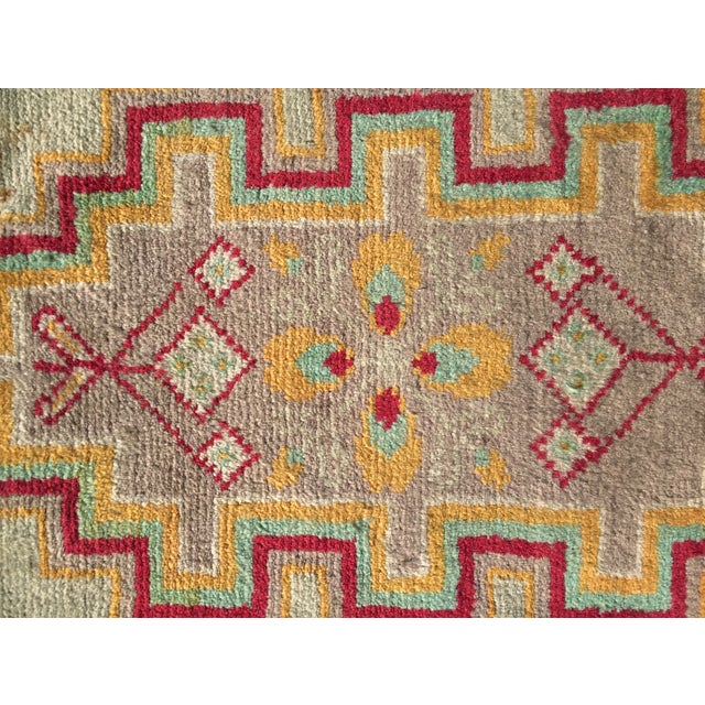 "Traditional Turkaman Persian Rug - 2'1"" x 2'8"" - Image 5 of 6"