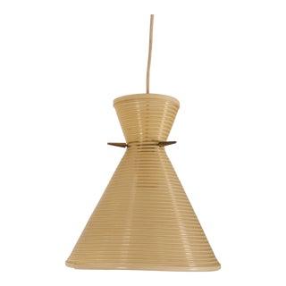 Austrian Textured Plastic Pendant For Sale