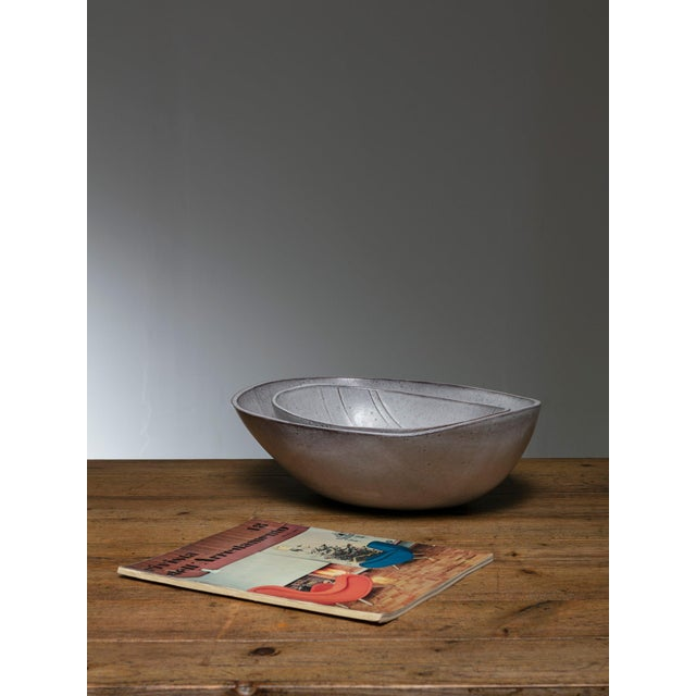 Alessio Tasca Rare Set of Two Ceramic Bowls by Alessio Tasca For Sale - Image 4 of 5