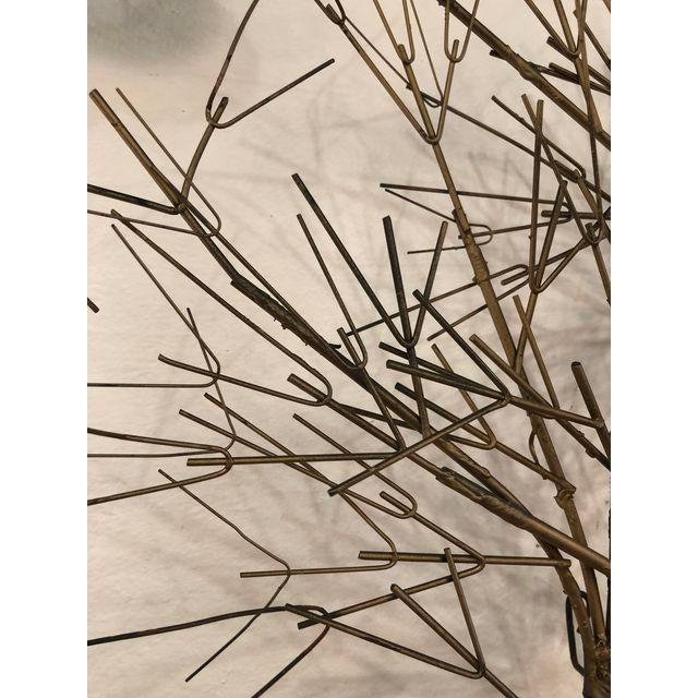 Vintage Metal Tree Wall Art Sculpture For Sale - Image 4 of 11